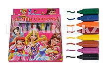 Восковые мелки Princess 8 цветов