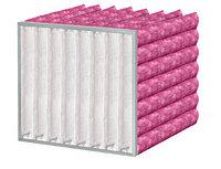 Фильтр воздушный карманный с фильтрующим материалом Meltblown