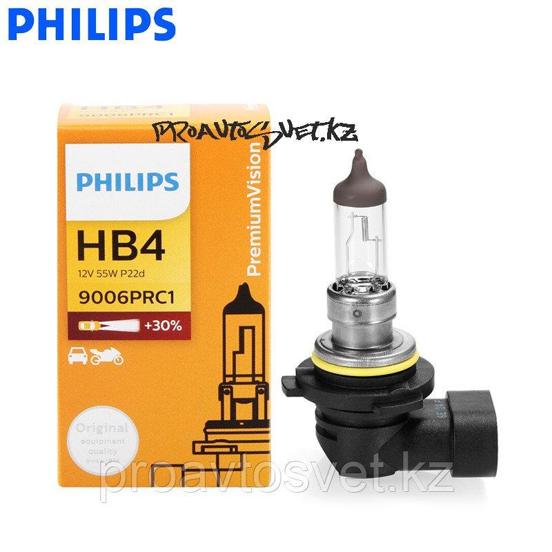 PHILIPS HB4 9006 PREMIUM 12V 55W P22d C1