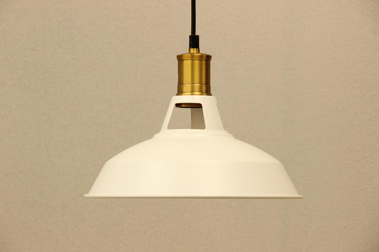 Светильник одноламповый LOFT белый