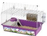 Ferplast Клетка CAVIE 80 DECOR для кроликов и морских свинок, 77 x 48 x h 42 cm, фото 1