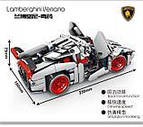 Конструктор Senbao 701400 гоночный спортивный автомобиль Ламборджини венено аналог лего Lego Technic, фото 3