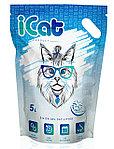ICat силикагелевый наполнитель с гранулами «snowflakes» 5 л