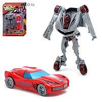 Робот-трансформер «Спорткар», набор 2 штуки, цвета МИКС