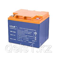 Батарея, SVC, 12В 38 Ач, Размер в мм.: 195*165*175