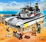 Конструктор COMBAT ZONE BRICK 1721 Танк аналог лего Lego 482 детали, фото 3