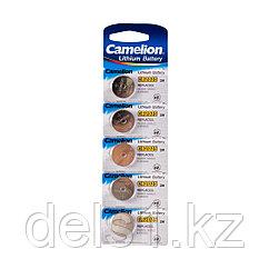 Батарейка, CAMELION, CR2025-BP5, Lithium Battery, CR2025, 3V, 220 mAh, 5 шт.