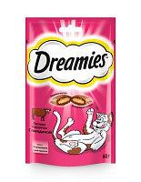 Dreamies Лакомство для кошек с говядиной 140гр