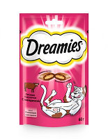 Dreamies Лакомство для кошек с говядиной 140гр