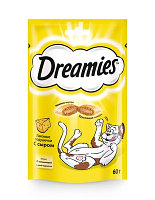 Dreamies Лакомство для кошек с сыром 60гр