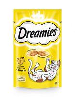 Dreamies Лакомство для кошек с лососем 60гр