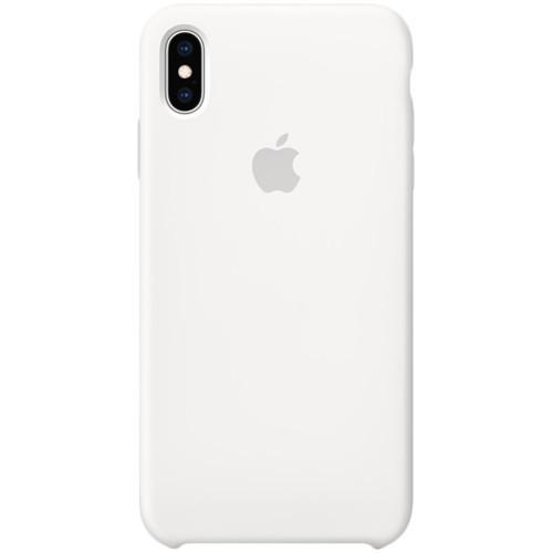 Apple iPhone XS Max Silicone Case White аксессуары для смартфона (MRWF2ZM/A) - фото 2