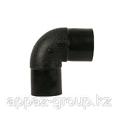 Отвод полиэтиленовый 90* 90 мм SDR 11/17 ПЭ 100