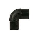 Отвод полиэтиленовый 90* 160 мм SDR 11/17 ПЭ 100, фото 2
