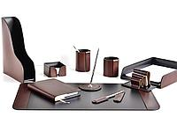 Premium набор FG Bologna Brown/Cuoietto из 10 предметов.  Ручное  изготовление руками мастеров BUVARDO.