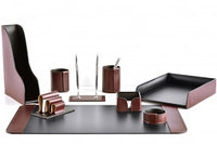 Premium набор FG Bologna Brown/Cuoietto из 9 предметов.  Ручное  изготовление руками мастеров BUVARDO.