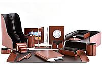 Premium набор FG Toscana Tan/шоколад из 18 предметов. Ручное изготовление руками мастеров BUVARDO