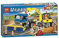 Конструктор BELA 10651 Уборочная техника аналог lego City 60152