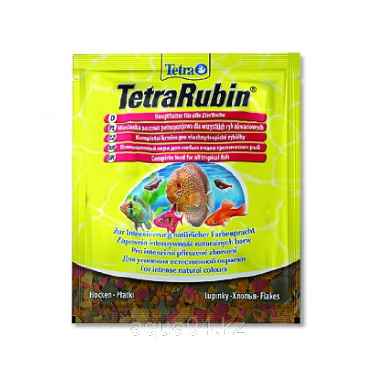 Tetra Rubin 12 гр. (хлопья)