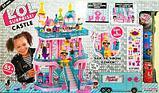 Большой замок LOL ( лол) 3 этажный с мебелью+ кукла лол шар +  2 куклы лол в капсуле (КАЧЕСТВЕННЫЙ АНАЛОГ), фото 3