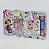 Большой замок LOL ( лол) 3 этажный с мебелью+ кукла лол шар +  2 куклы лол в капсуле (КАЧЕСТВЕННЫЙ АНАЛОГ), фото 5