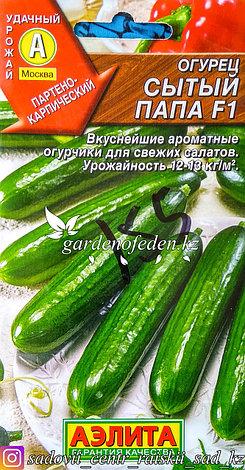 """Семена пакетированные Аэлита. Огурец """"Сытый папа F1"""", фото 2"""