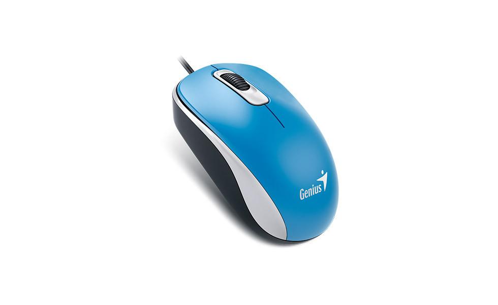 Genius 31010116105 мышь проводная DX-110 мышь проводная USB цвет синий