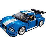 Конструктор DECOOL 3119 Гоночный автомобиль 3-в-1, аналог Lego Креатор 31070, фото 2