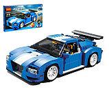Конструктор DECOOL 3119 Гоночный автомобиль 3-в-1, аналог Lego Креатор 31070, фото 3