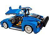 Конструктор DECOOL 3119 Гоночный автомобиль 3-в-1, аналог Lego Креатор 31070, фото 4