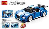 Конструктор DECOOL 3119 Гоночный автомобиль 3-в-1, аналог Lego Креатор 31070, фото 6