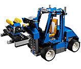 Конструктор DECOOL 3119 Гоночный автомобиль 3-в-1, аналог Lego Креатор 31070, фото 8