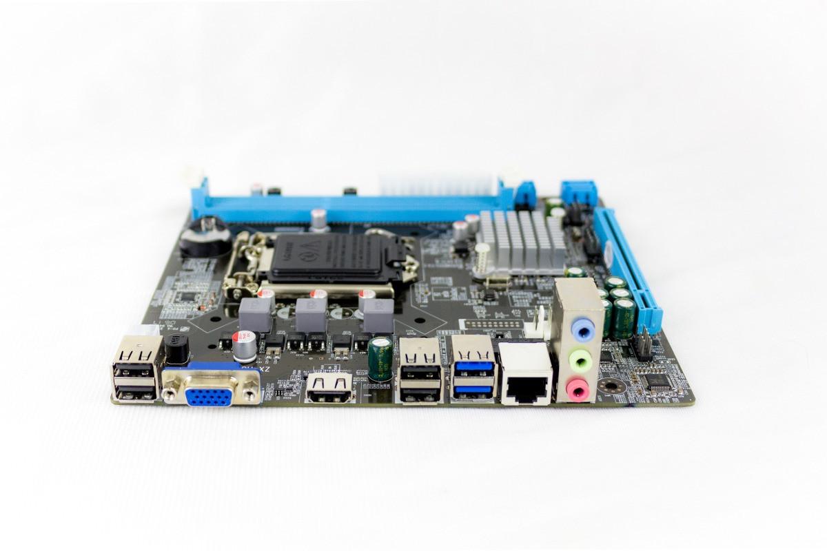 Материнская плата S1150, Intel H81, PCI-Ex16