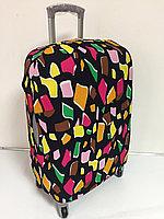 Чехол на средний чемодан. Неопрен. Высота 63 см, длина 39 см,ширина 24 см., фото 1