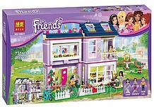 """Конструктор Bela 10541  """"Дом Эммы"""" 731 деталь аналог LEGO Friends 41095"""