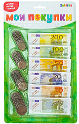 Zabiaka Игровой набор «Мои Деньги»: евро