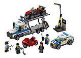 Конструктор bela 10658 Ограбление грузовика аналог LEGO City  60143, фото 3