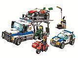Конструктор bela 10658 Ограбление грузовика аналог LEGO City  60143, фото 2