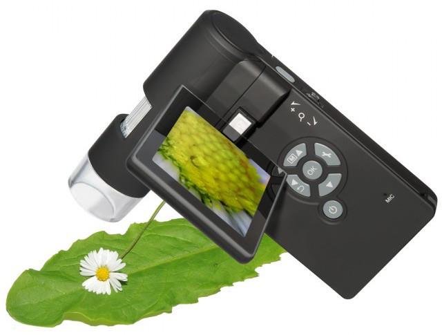 Прибор имеет собственный дисплей, поэтому позволяет исследовать объекты без привлечения ПК