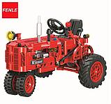 Конструктор Winner 7070 Technic 302 детали классический старый трактор аналог Lego Technic, фото 4