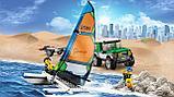 Конструктор LEPIN City 02027 Внедорожник с прицепом для катамарана 212 деталей аналог Lego 60149, фото 8