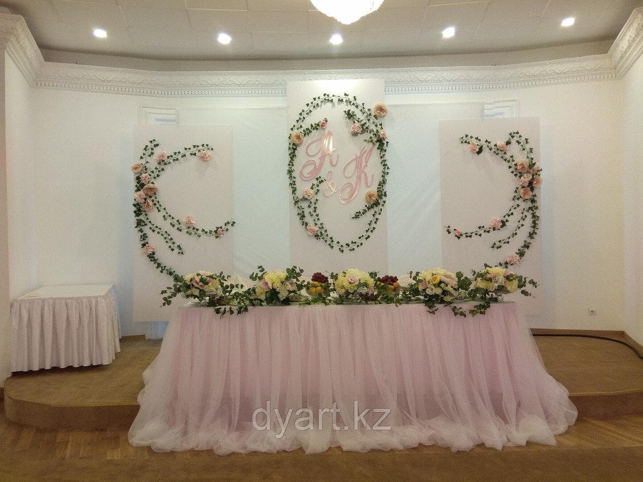 Весенняя свадьба, декор