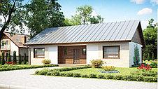 Строительство дома «под ключ» по проекту «Сириус», фото 2