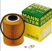 Масляный фильтр mann   H 926/3x Элемент
