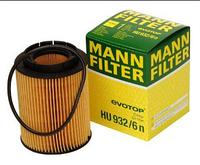 Масляный фильтр mann   HU 932/6n Элемент