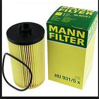 Масляный фильтр mann   HU 931/5x Элемент