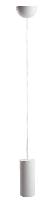Светильник подвесной Luazon GU10, d=65 x 150, IP40, 220 В, Белый корпус