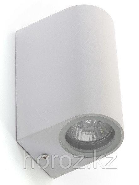 Светильник фасадный двусторонний 2 х GU10 мм, 65 x 150 мм, IP65, 220 В, Белый