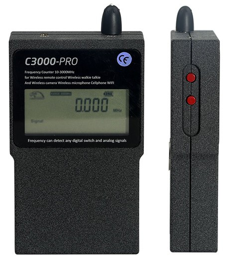"""Индикатор """"C-3000-PRO"""" (вид спереди и сбоку)"""