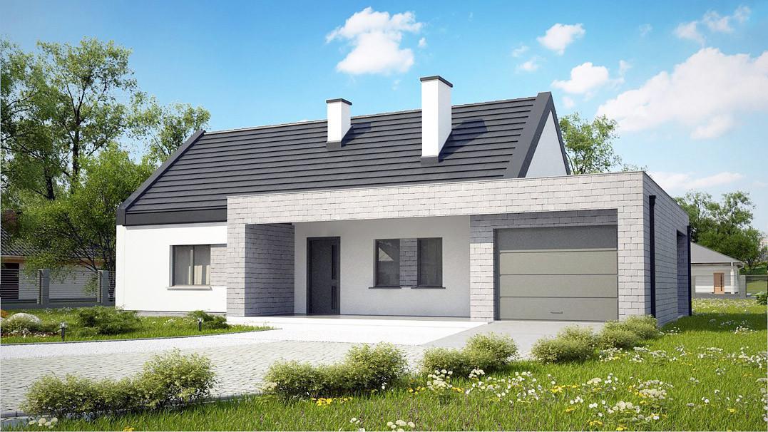 Строительство дома «под ключ» по проекту «Кастор»